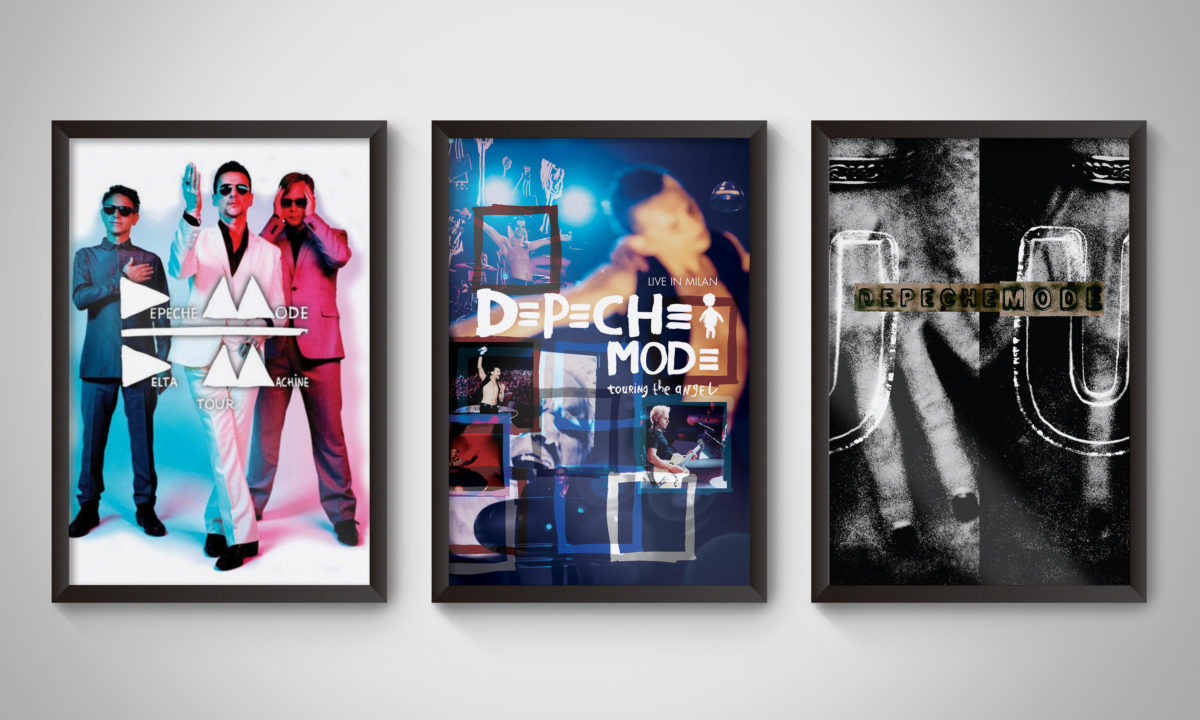 Depeche Mode Poster Graphic Design AMP Visual Dublin Ireland Music Album Design