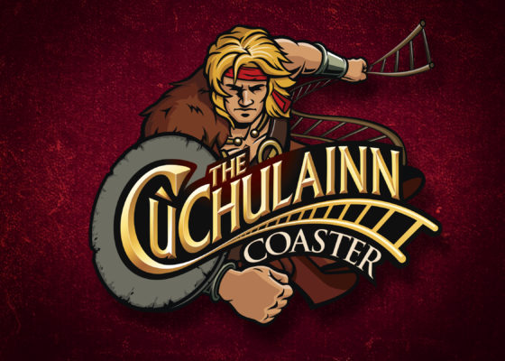Roller Coaster Design and Branding AMP Visual Cu Chulainn logo