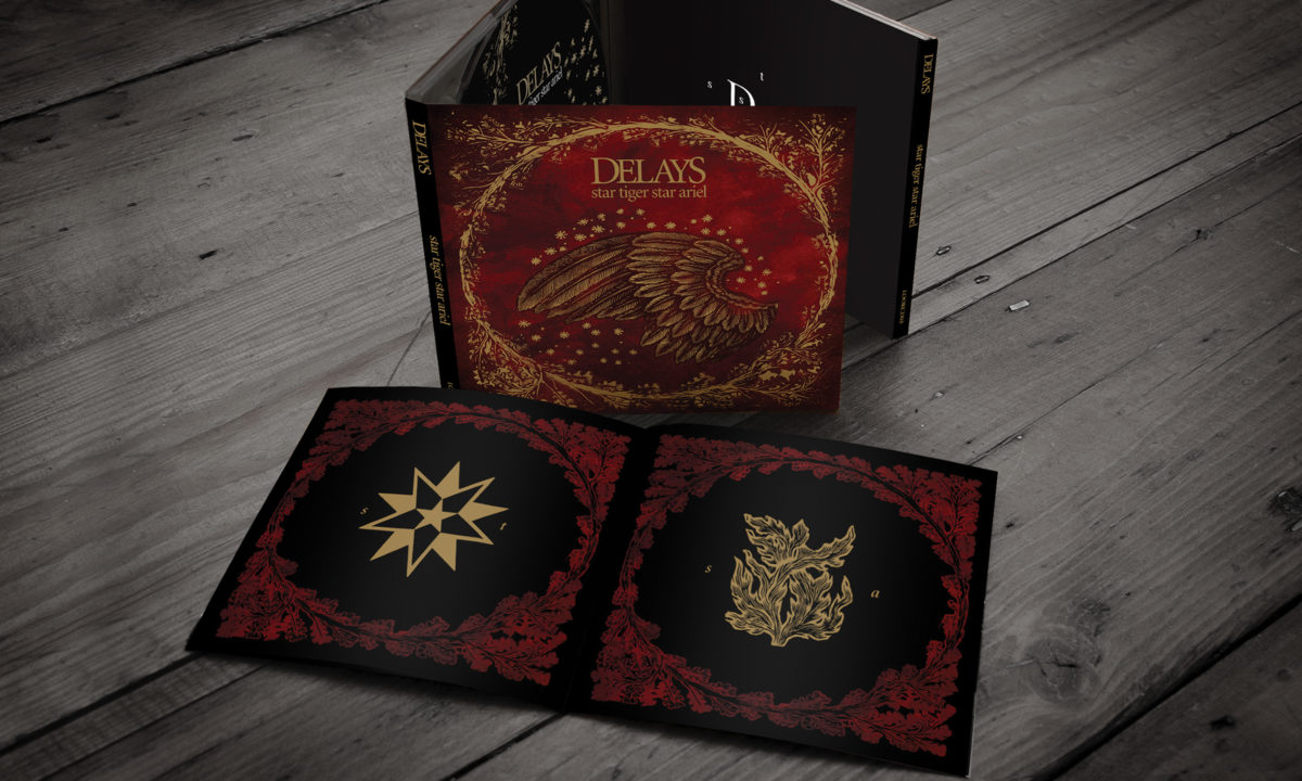 The Delays Digipak Album Design Graphic AMP Visual Dublin Ireland Music Album Design