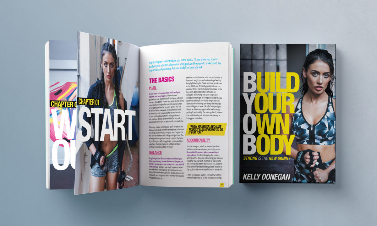 AMP Visual Gill Publishing Kelly Donegan Build Your Own Body Book Design Branding For Business