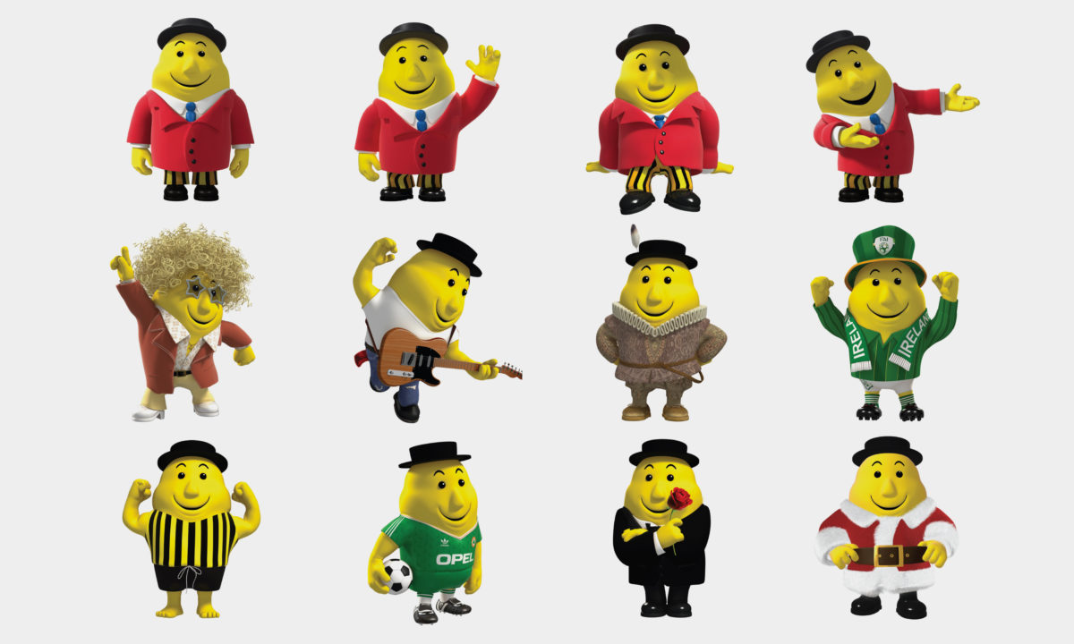 Mr. Tayto Best Selling Book Design and Campaign AMP Visual 3D Character Animation