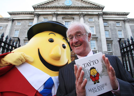 Mr. Tayto Best Selling Book Design and Campaign Graphic Design Dublin Ireland