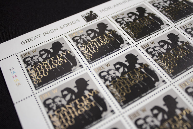 An Post Great Irish Songs Stamp Collection | AMP Visual